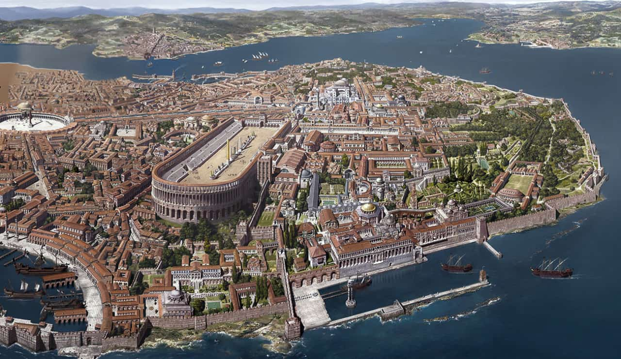 Constantinople in 13th century