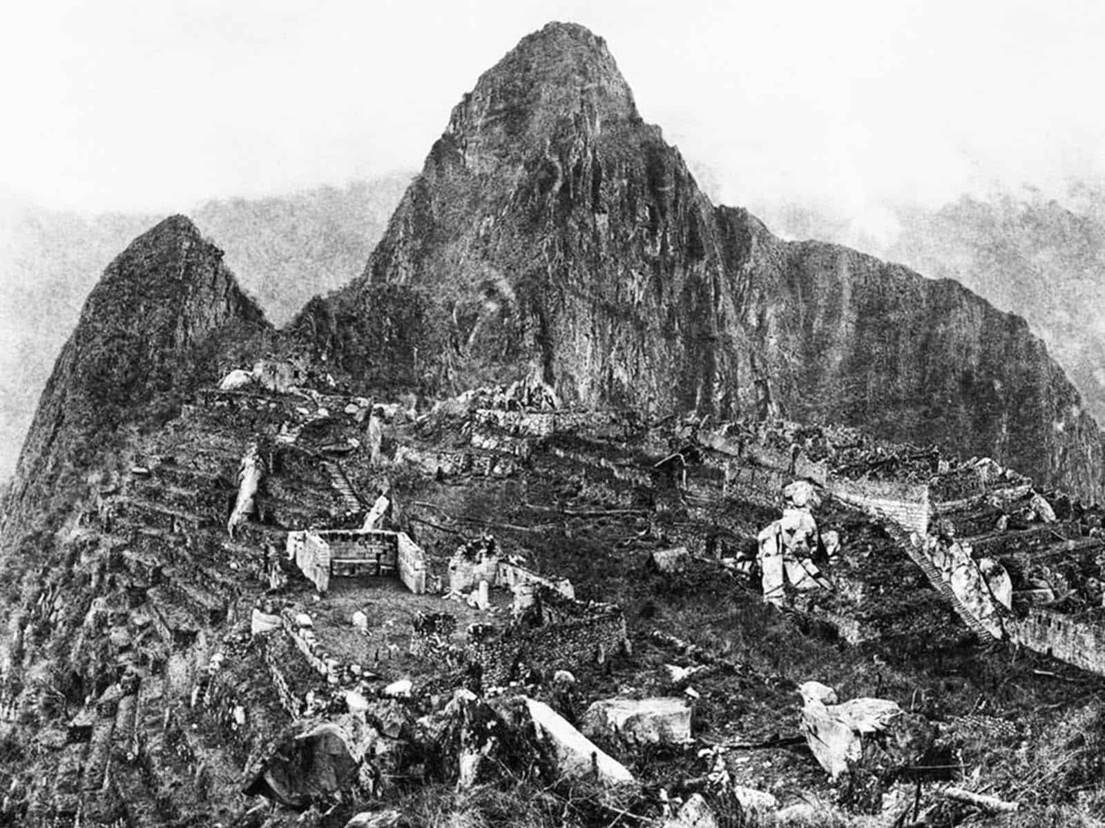 First Photograph of the Machu Picchu