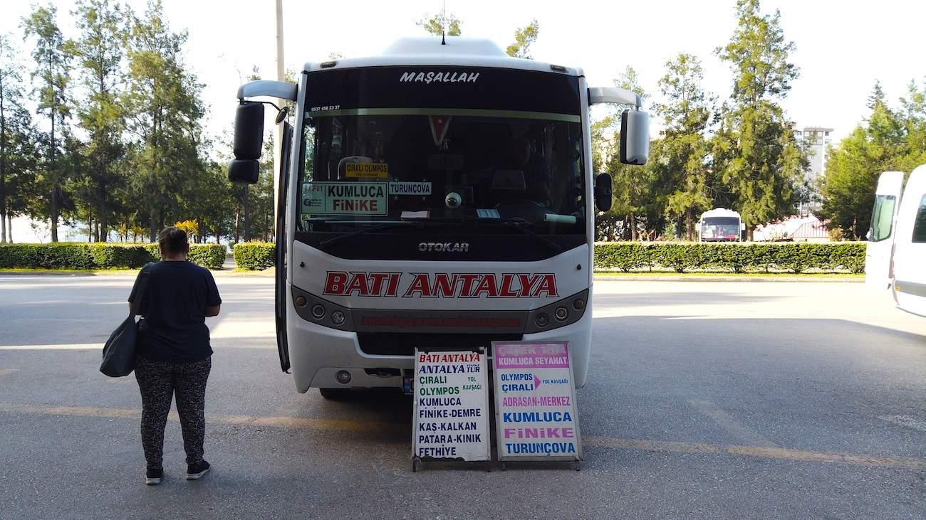 Çıralı buses