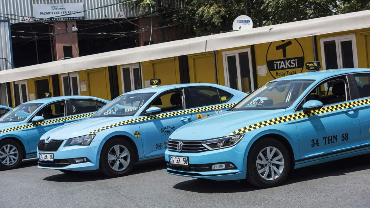İstanbul turquois taxi