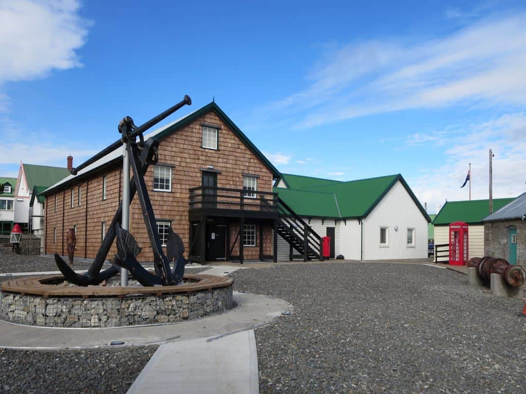 Historic Dockyard Museum in Stanley