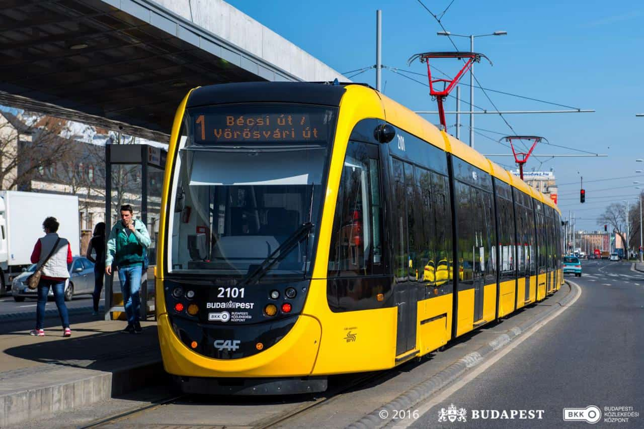Budapest Tram Line 1