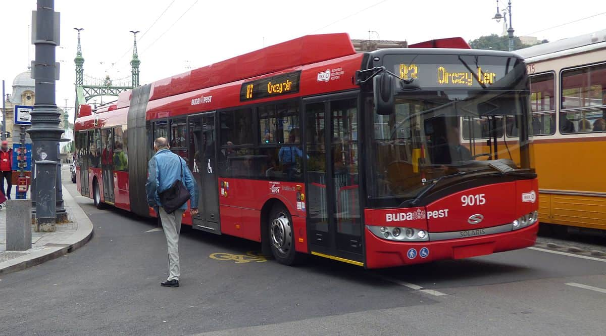 Budapest buses