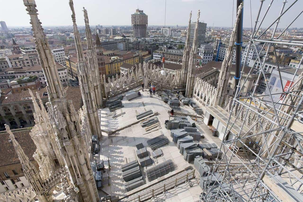 Rooftop of Duomo di Milano