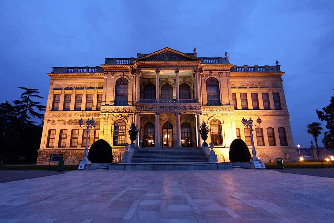 Main entrance of the Dolmabahce Palace