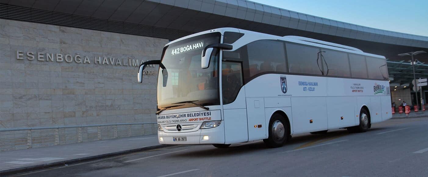 BELKO Air Ankara Esenboğa Airport Buses