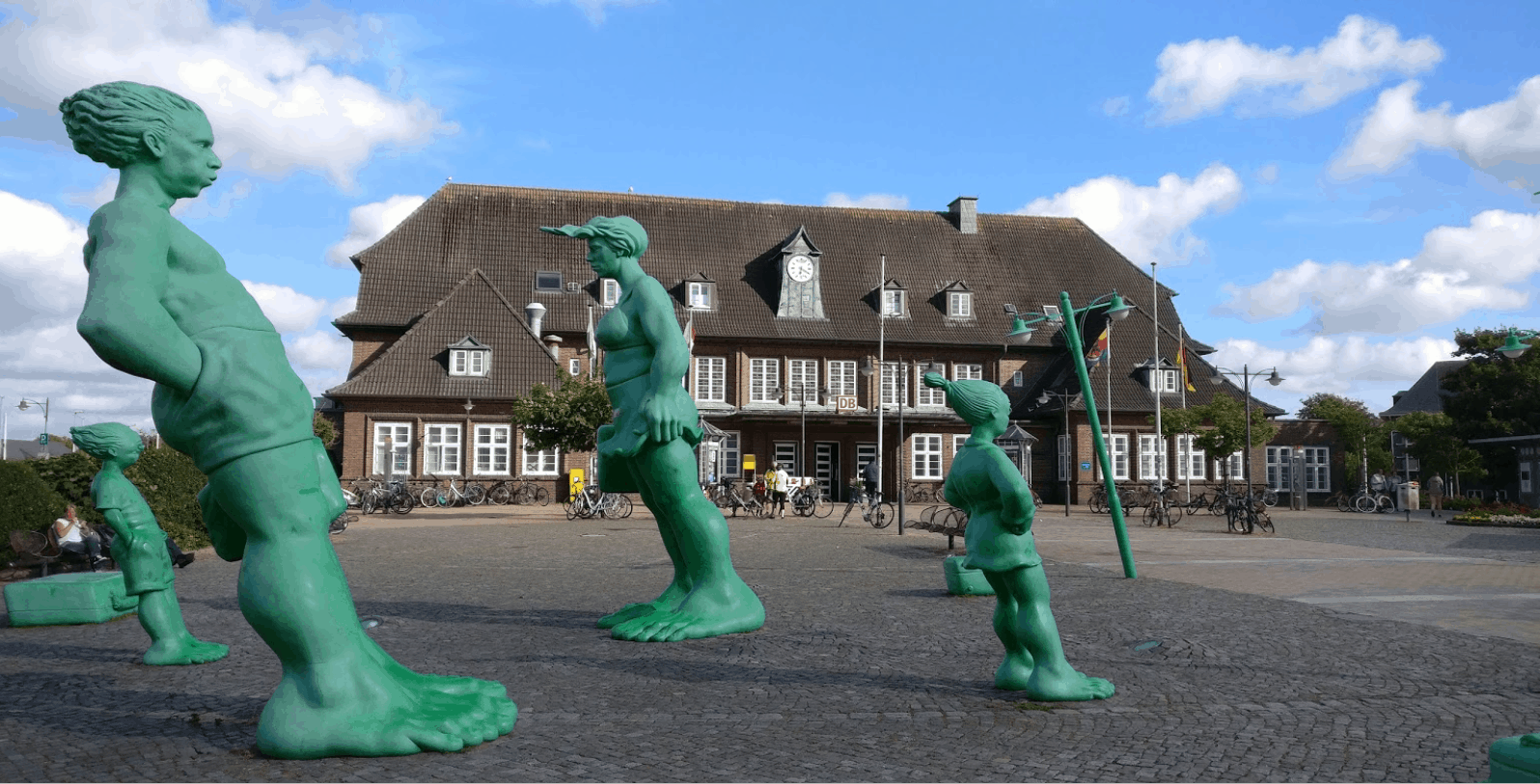 Westerland train station