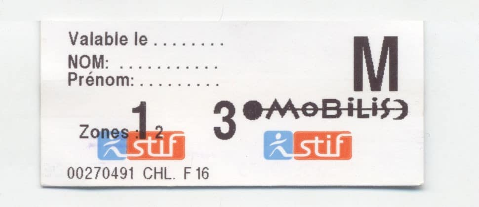 Paris Mobilis Tickets