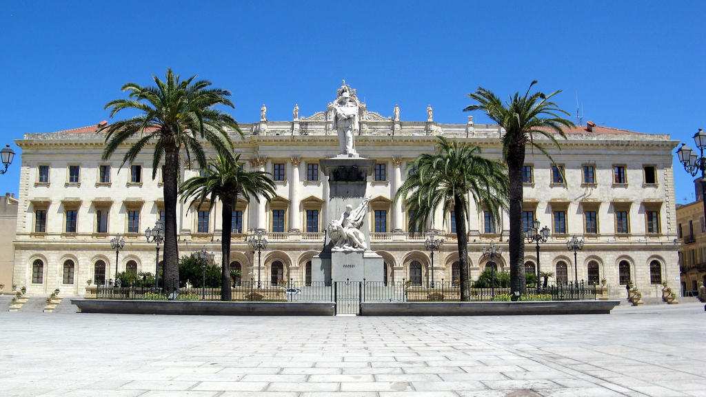 Sassari piazza