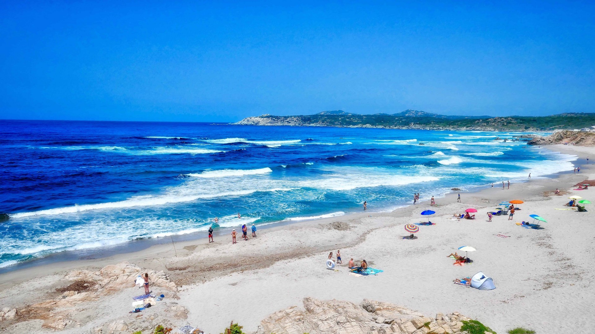 Sardinia Island beach