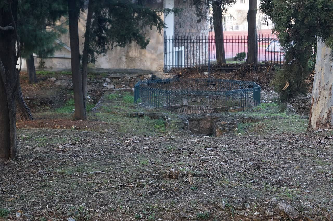 Remains of the Basilica Olympieion