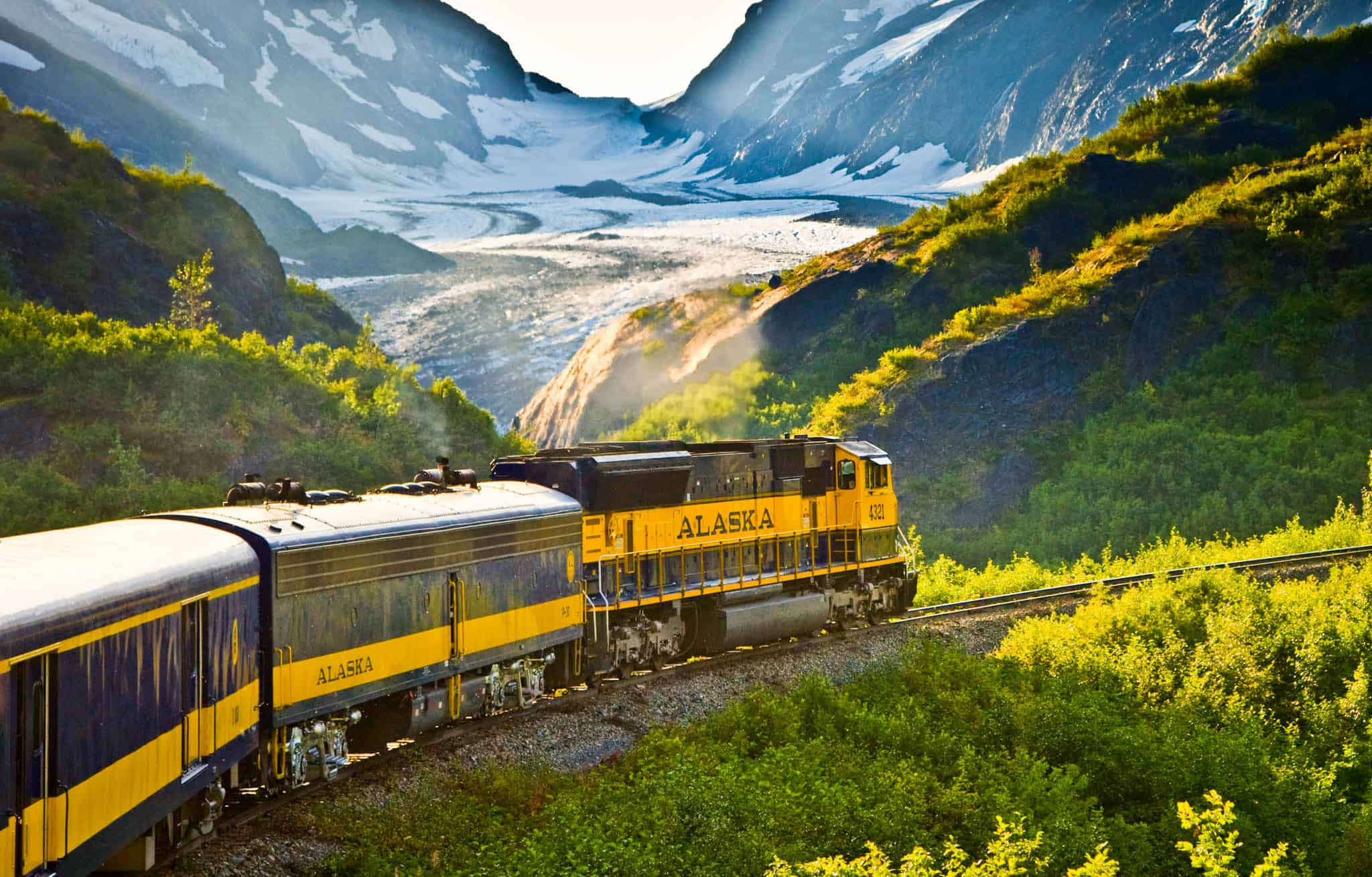 Alaska Railroad trains