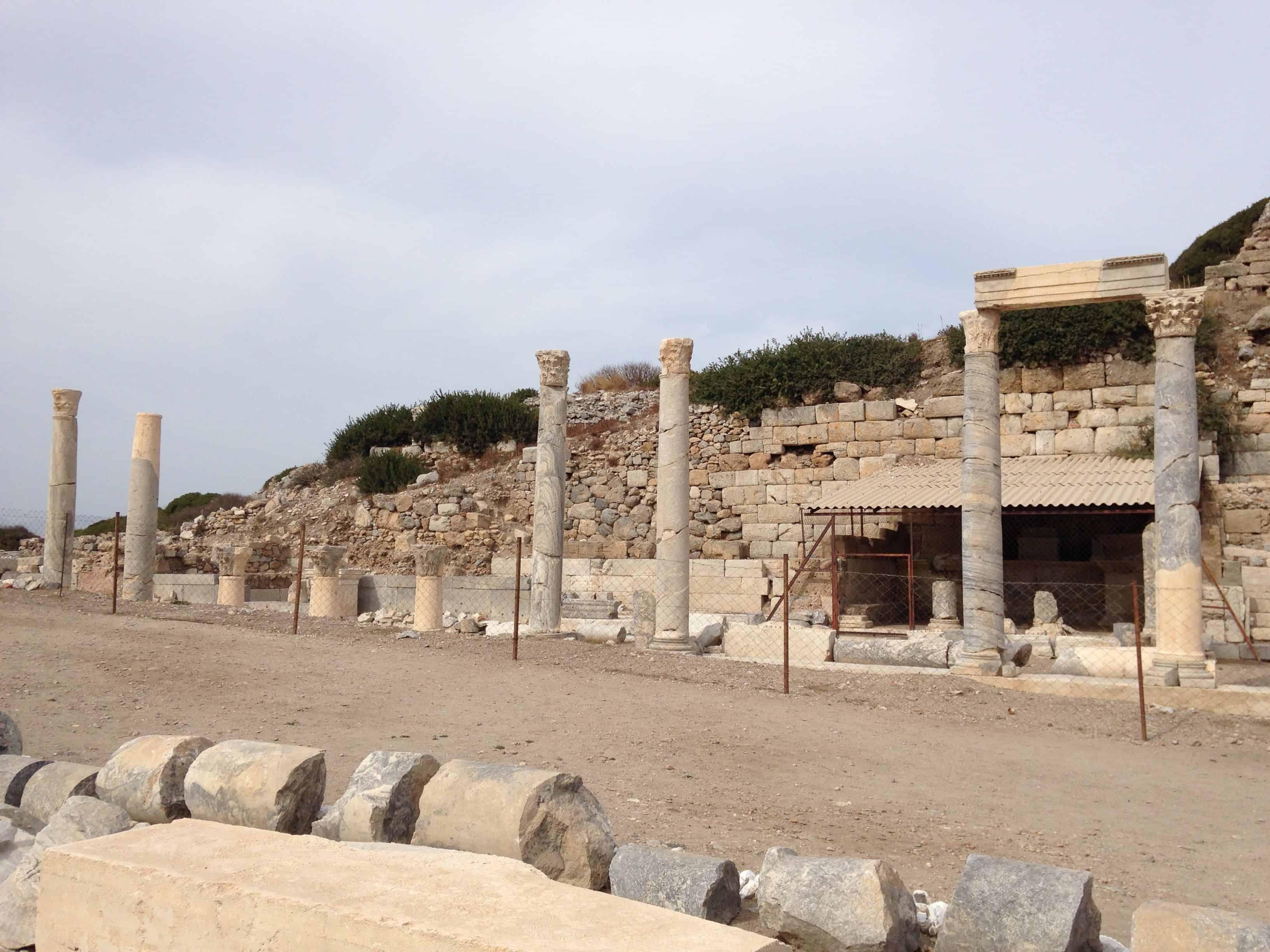 Knidos Ancient City remains