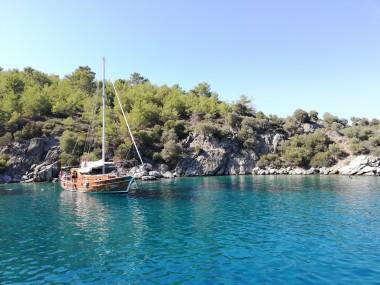 Datca boat tour and sea