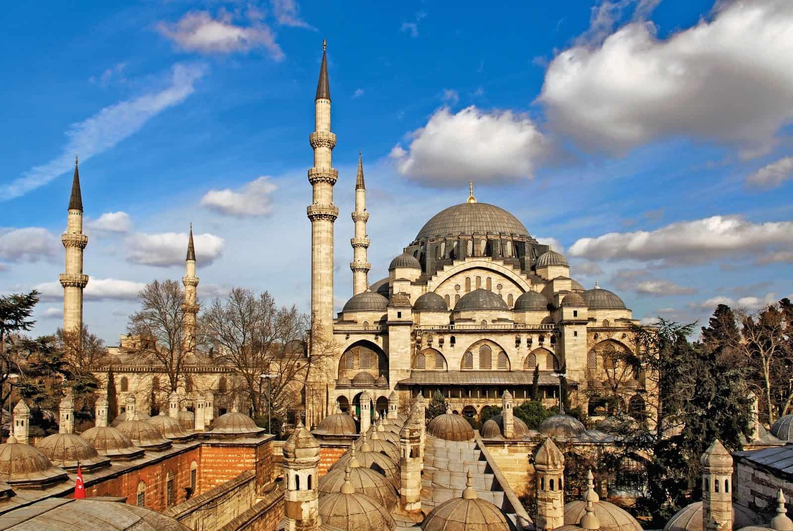 Suleymaniye Mosque of Istanbul