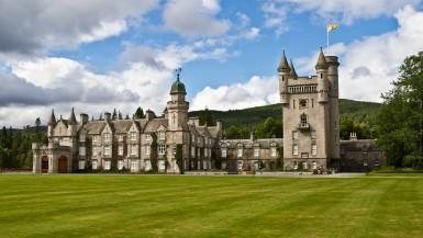 Balmoral Castle at Scotland