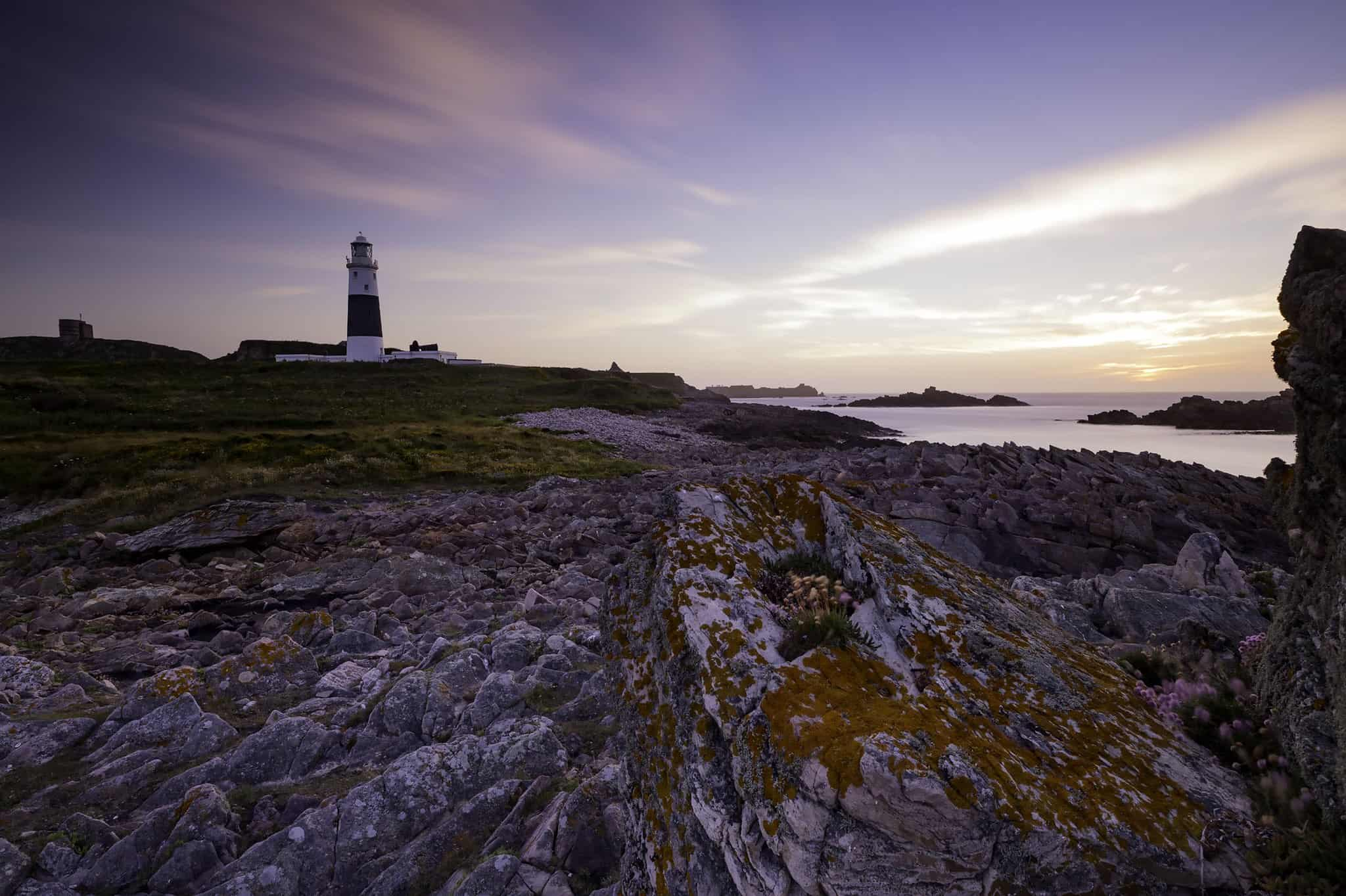 Quesnard Lighthouse Alderney Island