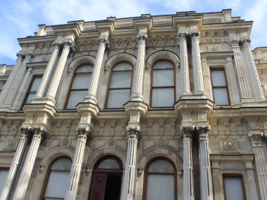 Beylerbeyi Palace from close-up