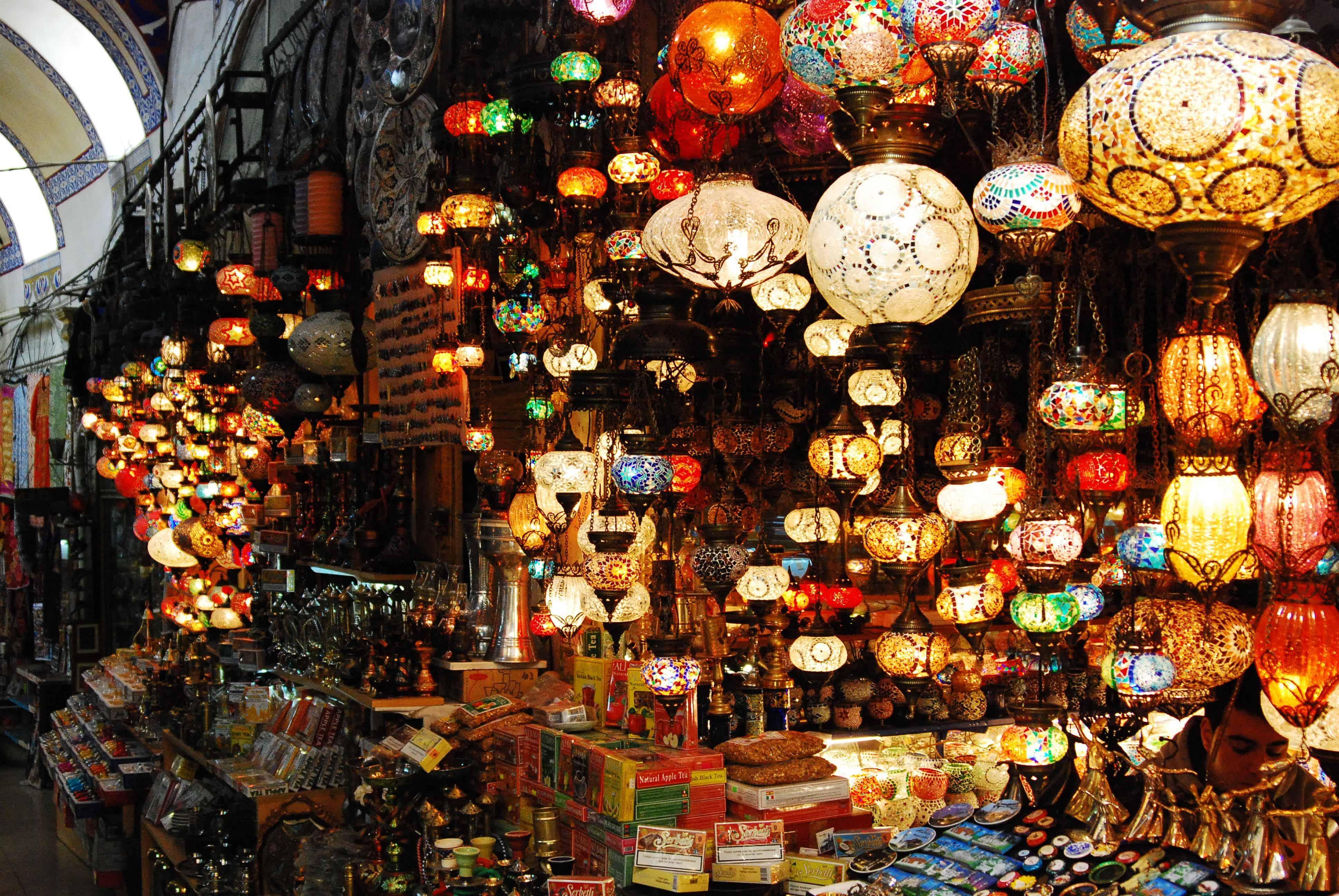 Antique shops in the Grand Bazaar