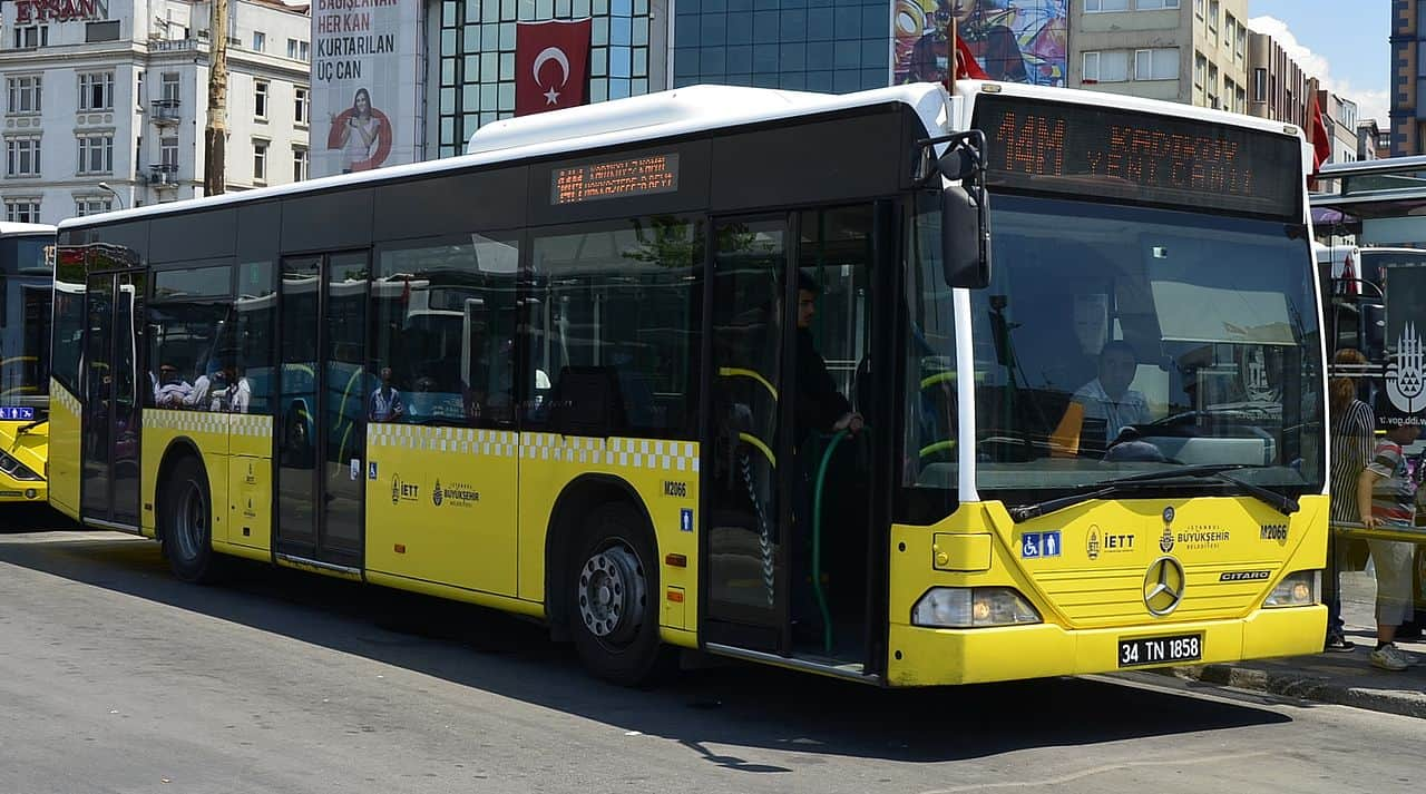 One of the IETT buses