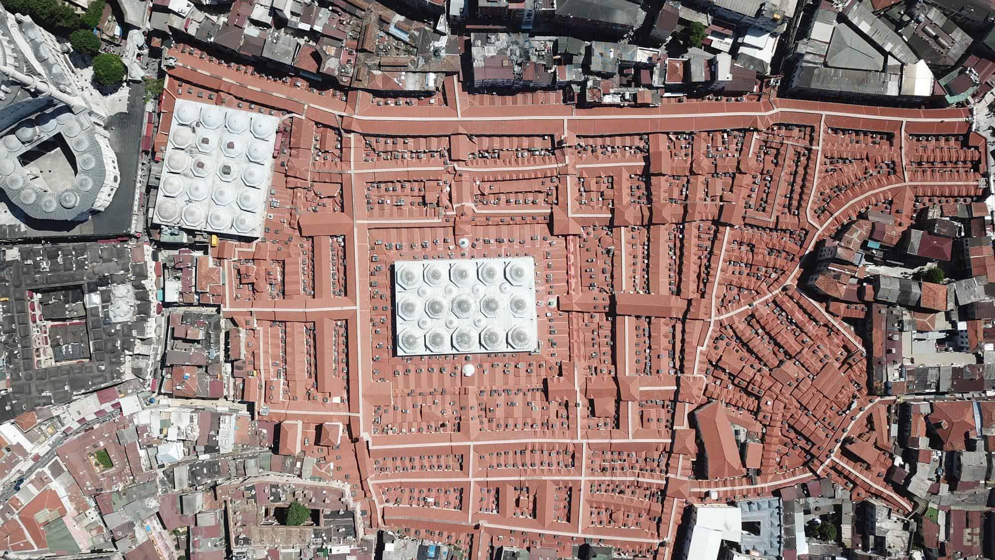 Grand Bazaar Aerial View