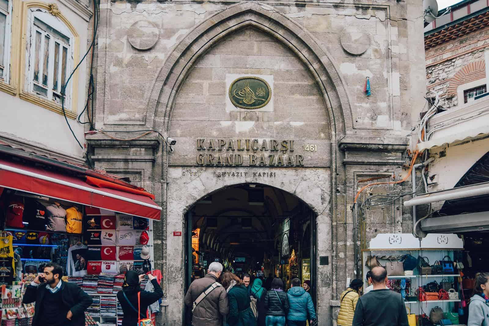 Grand Bazaar Beyazit Gate