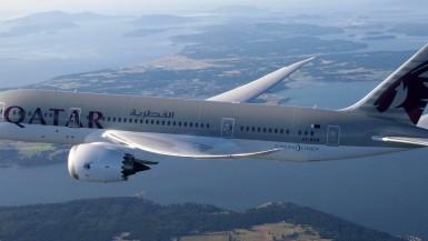 Qatar Airways Business Class B787 Dreamliner