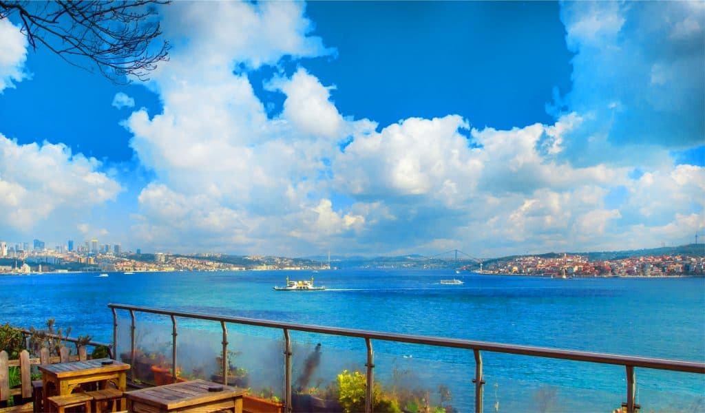 Bosphorus from the Gulhane Park