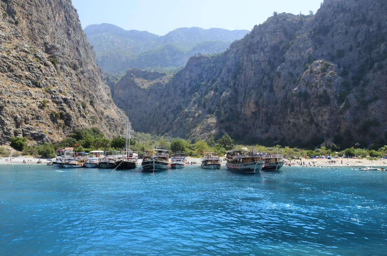 Entrance of the Butterfly Valley