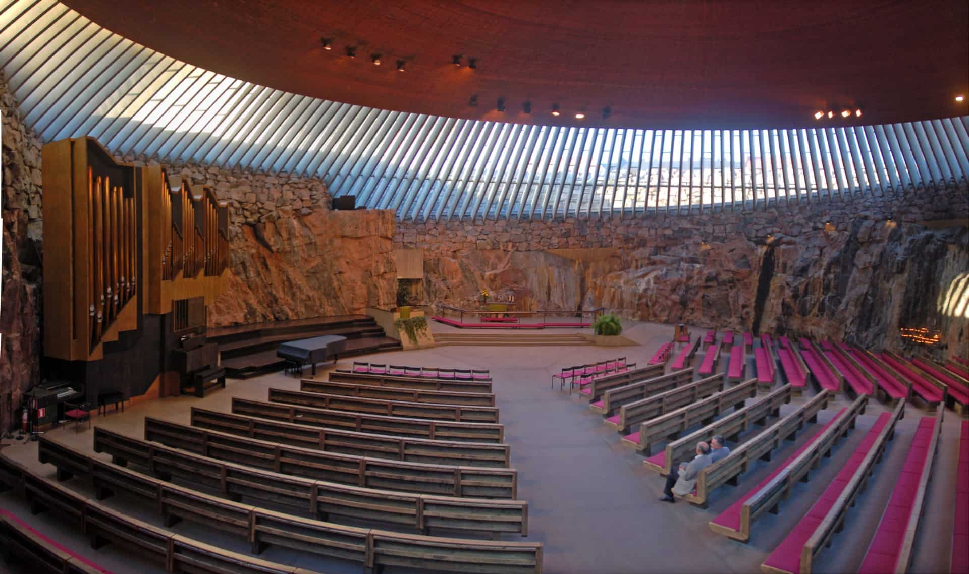 Temppeliaukio Kirkko (Church of The Rock) interior
