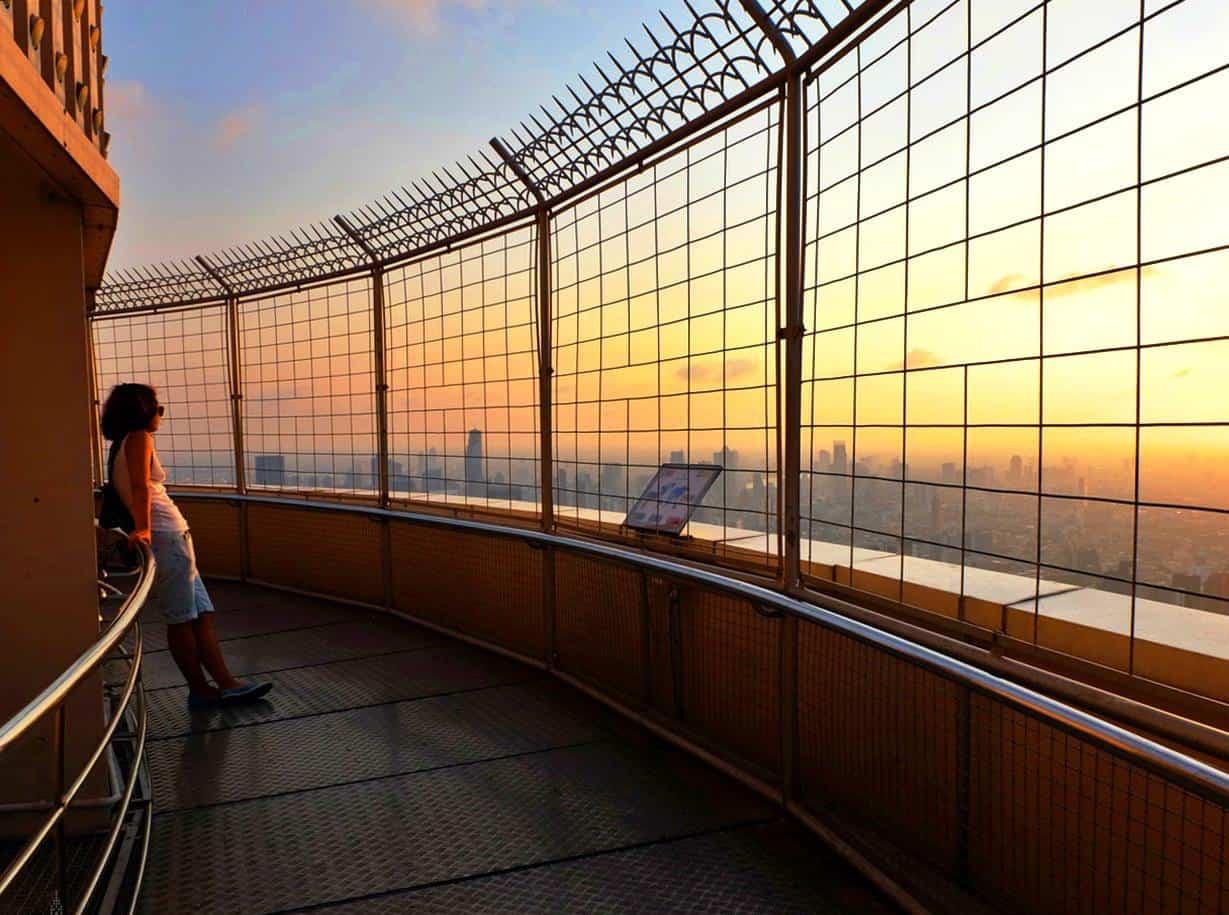 Baiyoke Sky Hotel The Revolving View Point