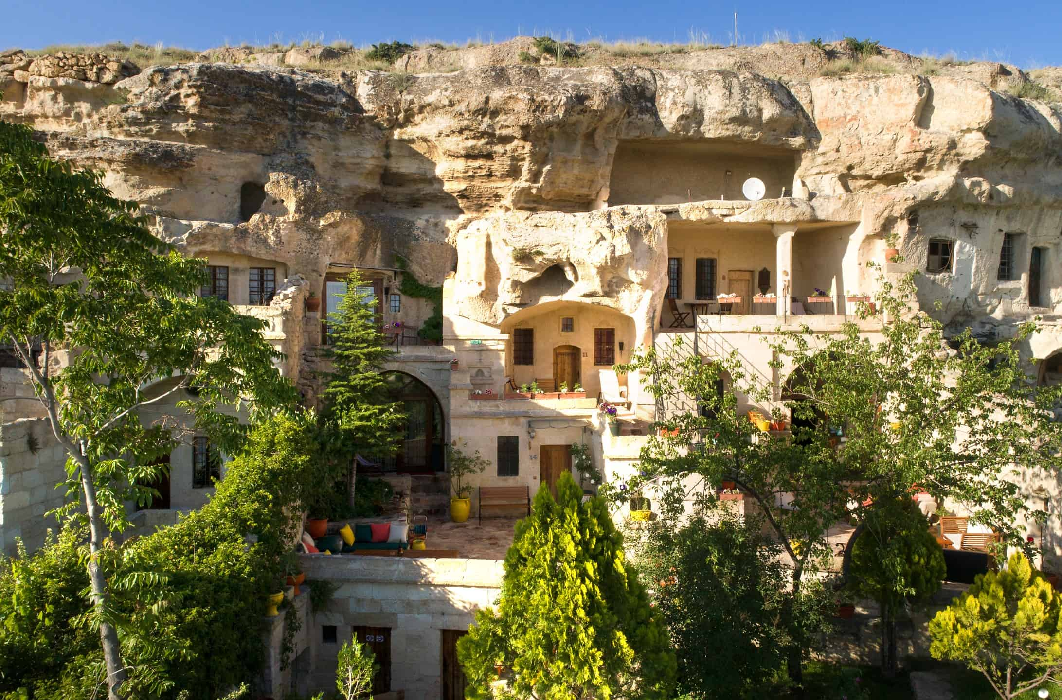 Cave hotels of Cappadocia