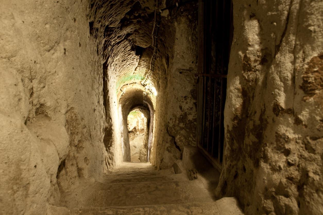Entrance of Derinkuyu Underground City