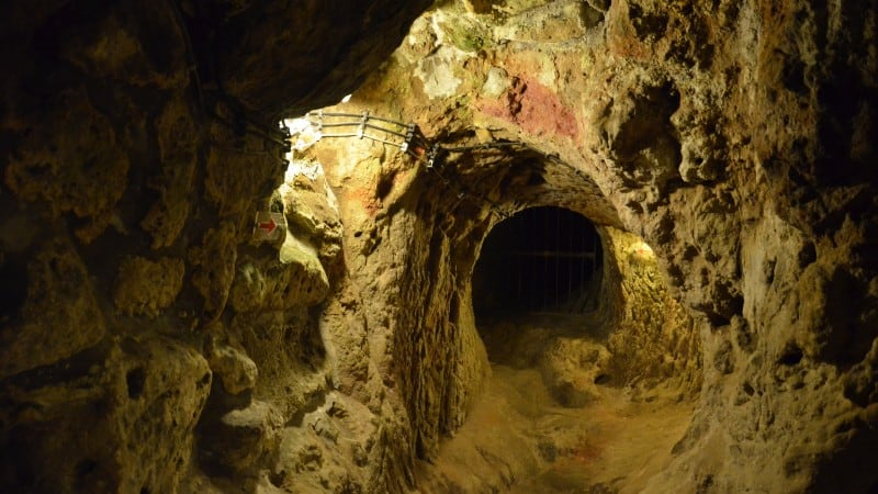 Narrow tunnels of Derinkuyu Underground City