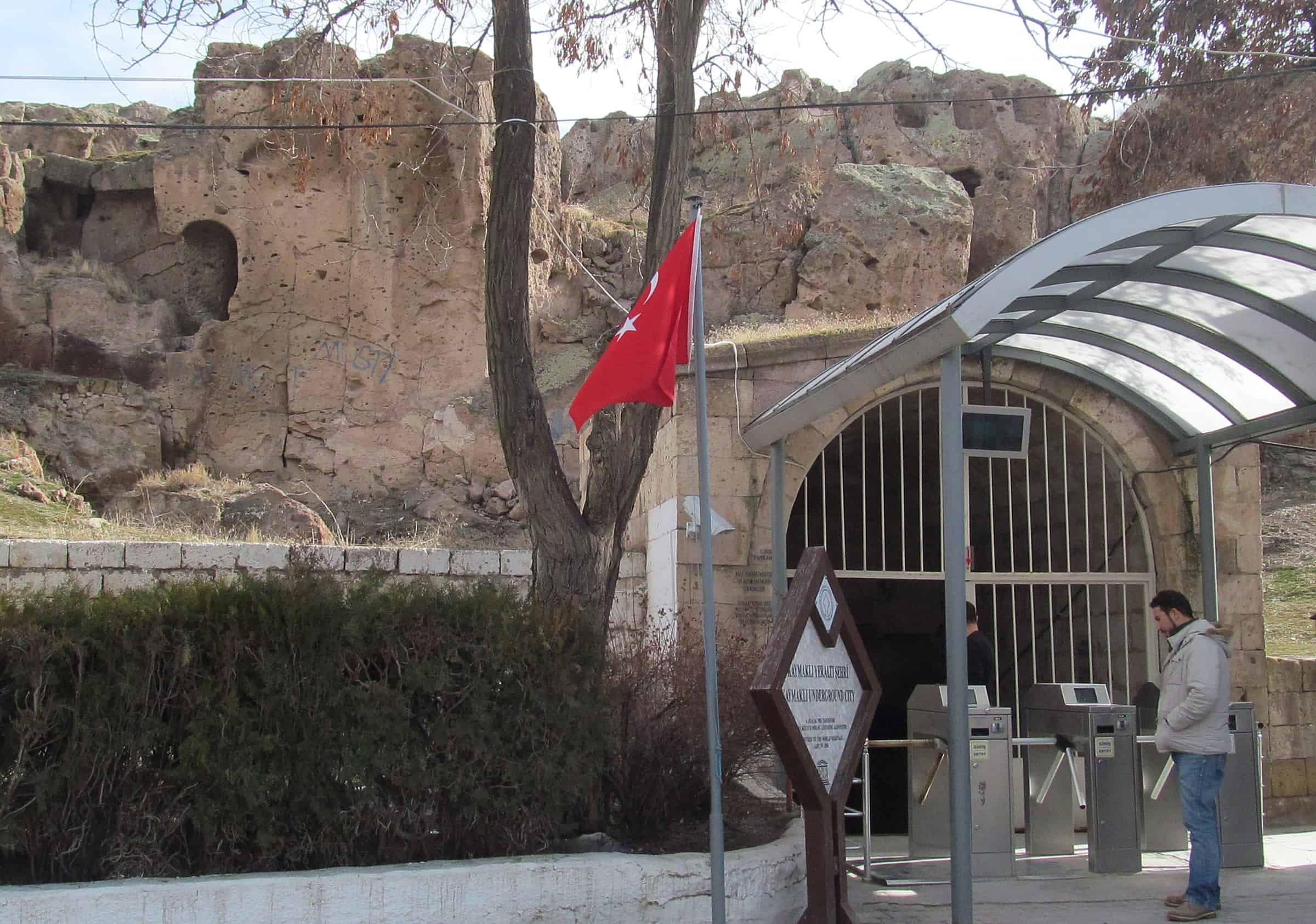 Entrance of the Kaymakli Underground City