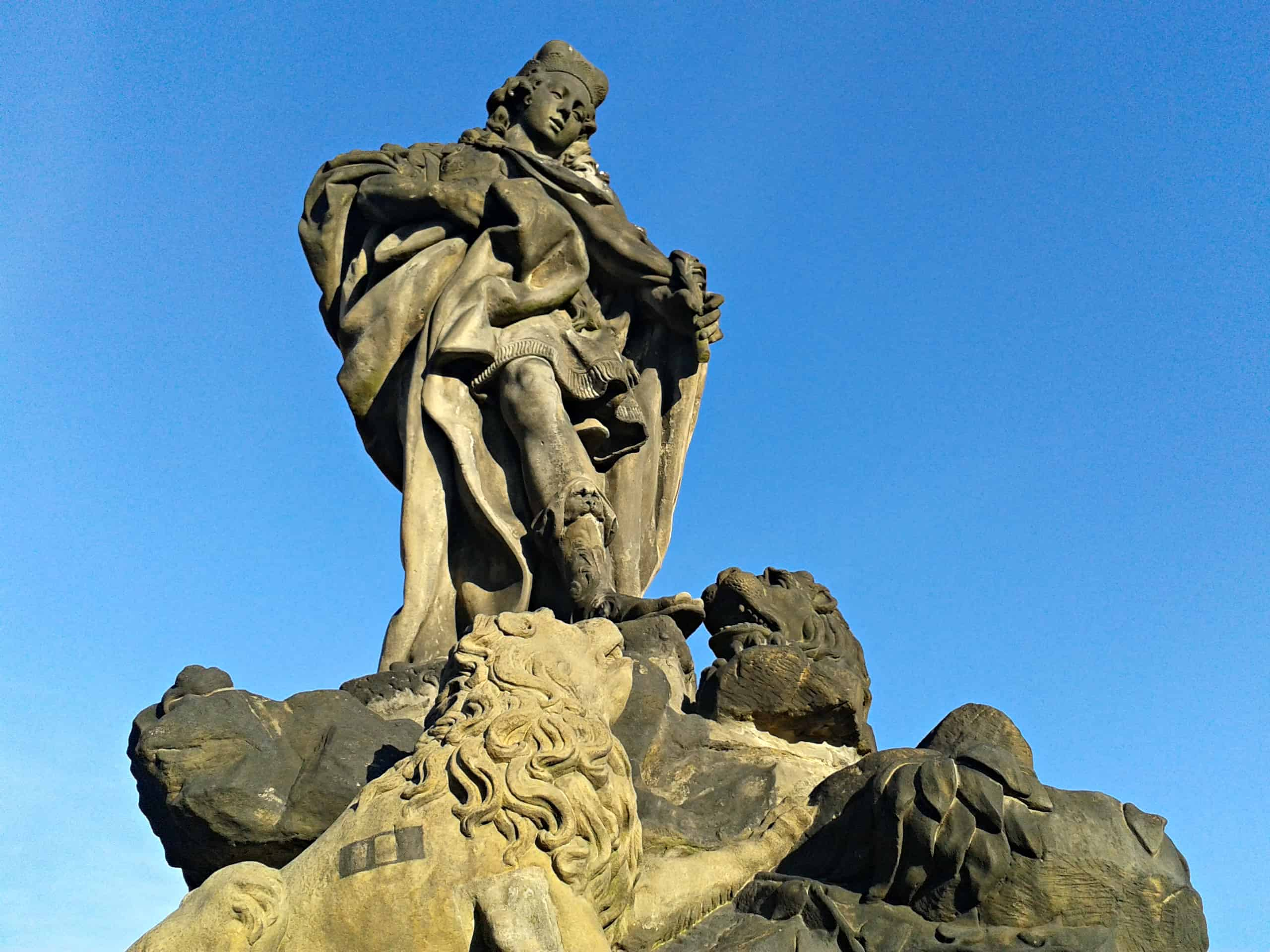 St. Vitus and his lions