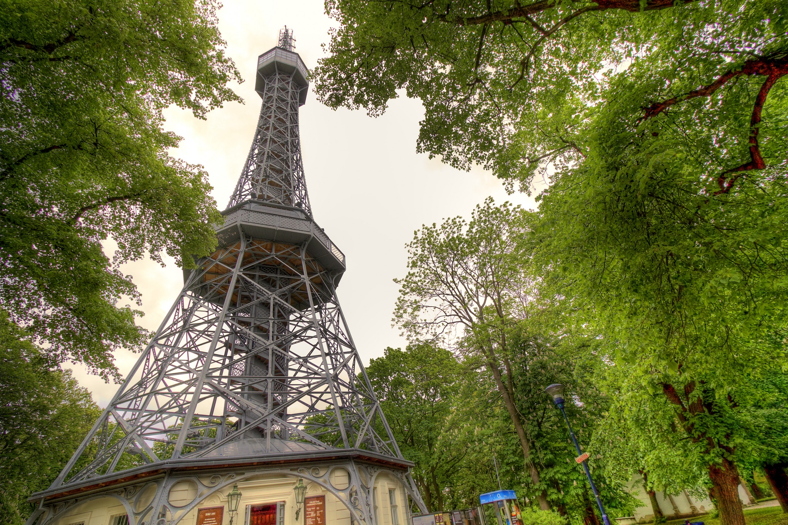 Small but cute lookout tower of Prague