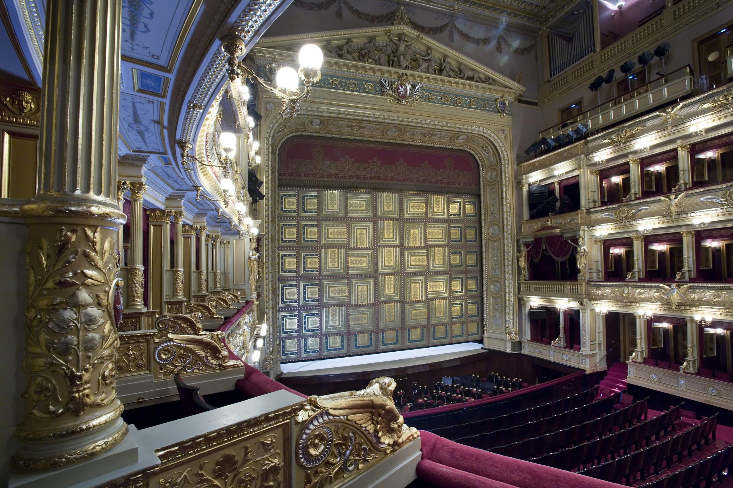 Narodni Divadlo, National Theater, Prague