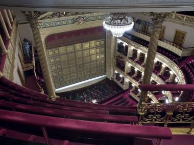 National Theatre Prague (Národní Divadlo) and its main hall