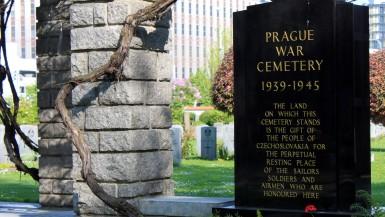 Prague War Cemetery inside the Olsany Cemetery
