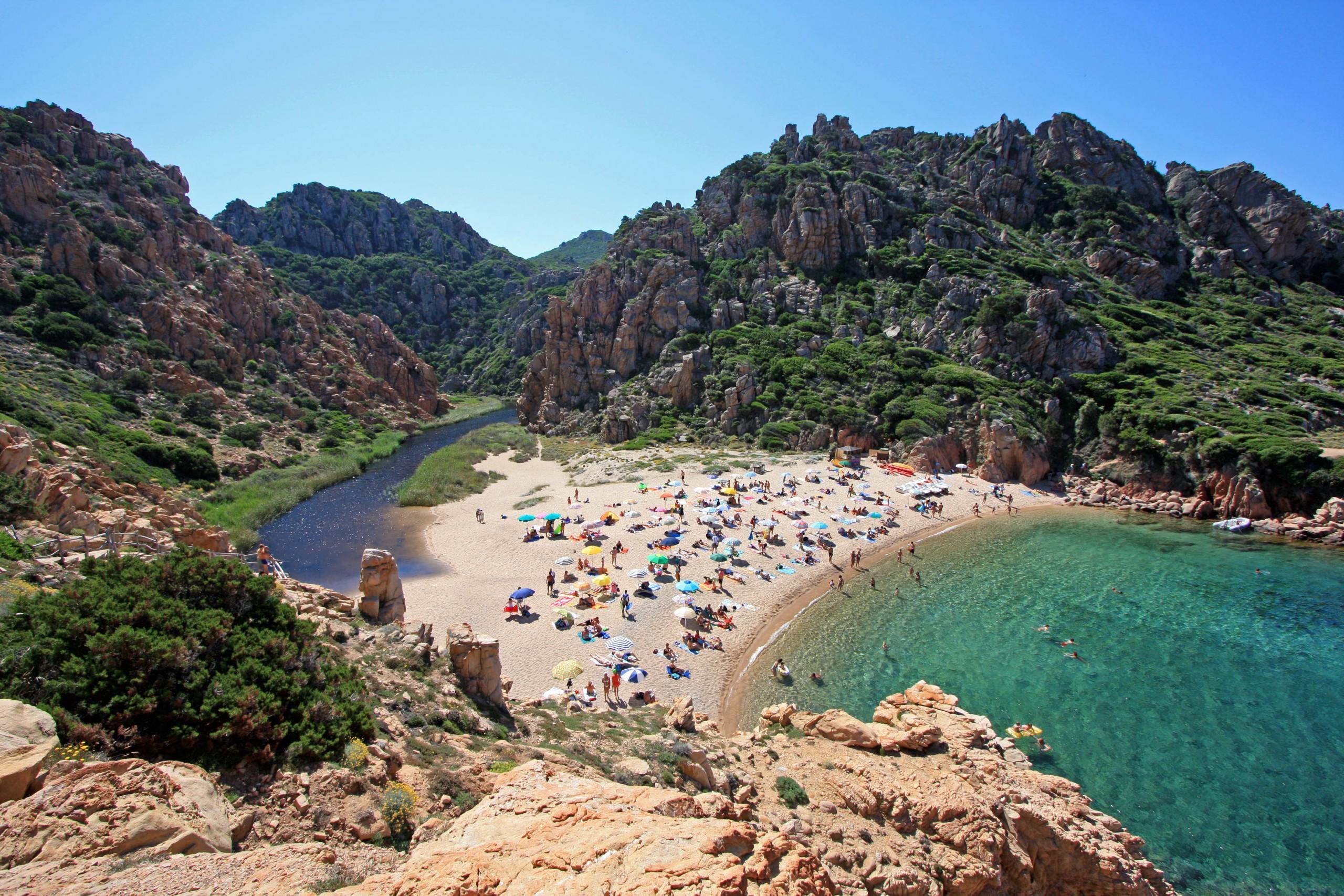 One of the Beautiful beaches of Costa Smeralda