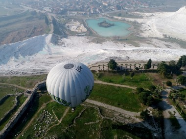 Hierapolis Ancient City and Pamukkale travertines