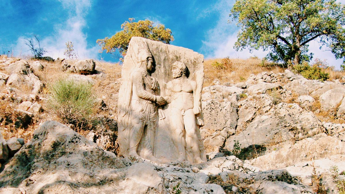 King Clasped with Gods, Nemrut Mount, Adıyaman