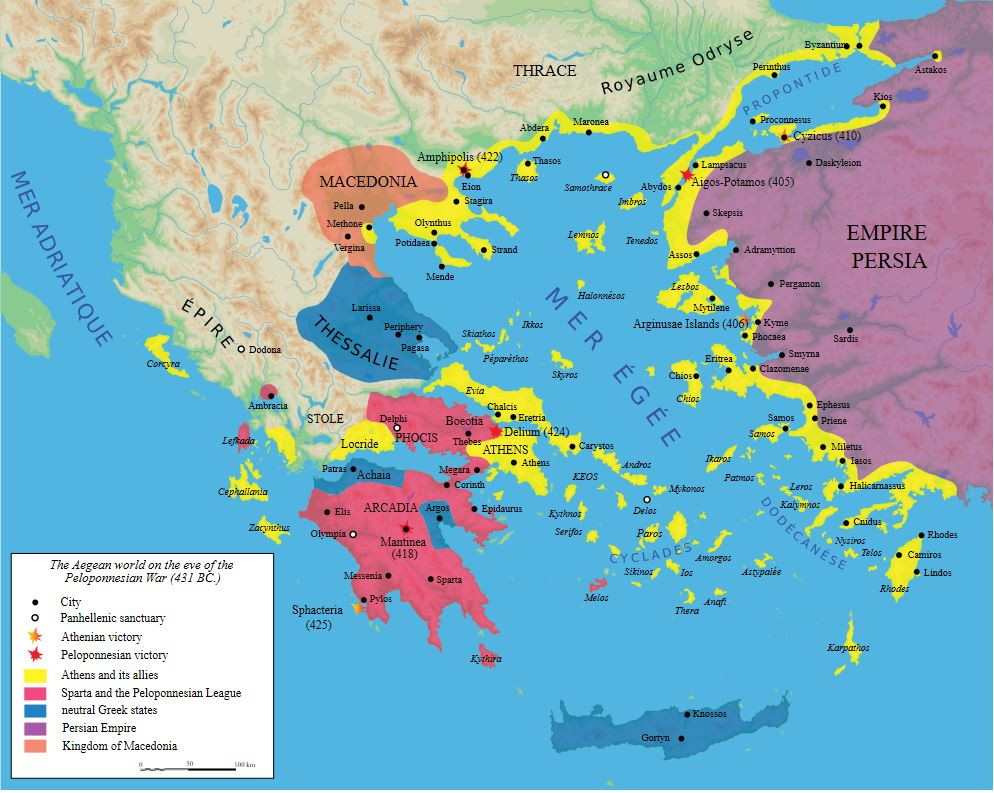 The Aegean States before the Peloponnesian War