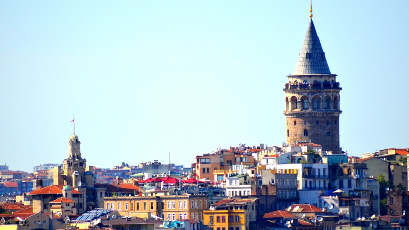 Istanbul city tour around the Galata