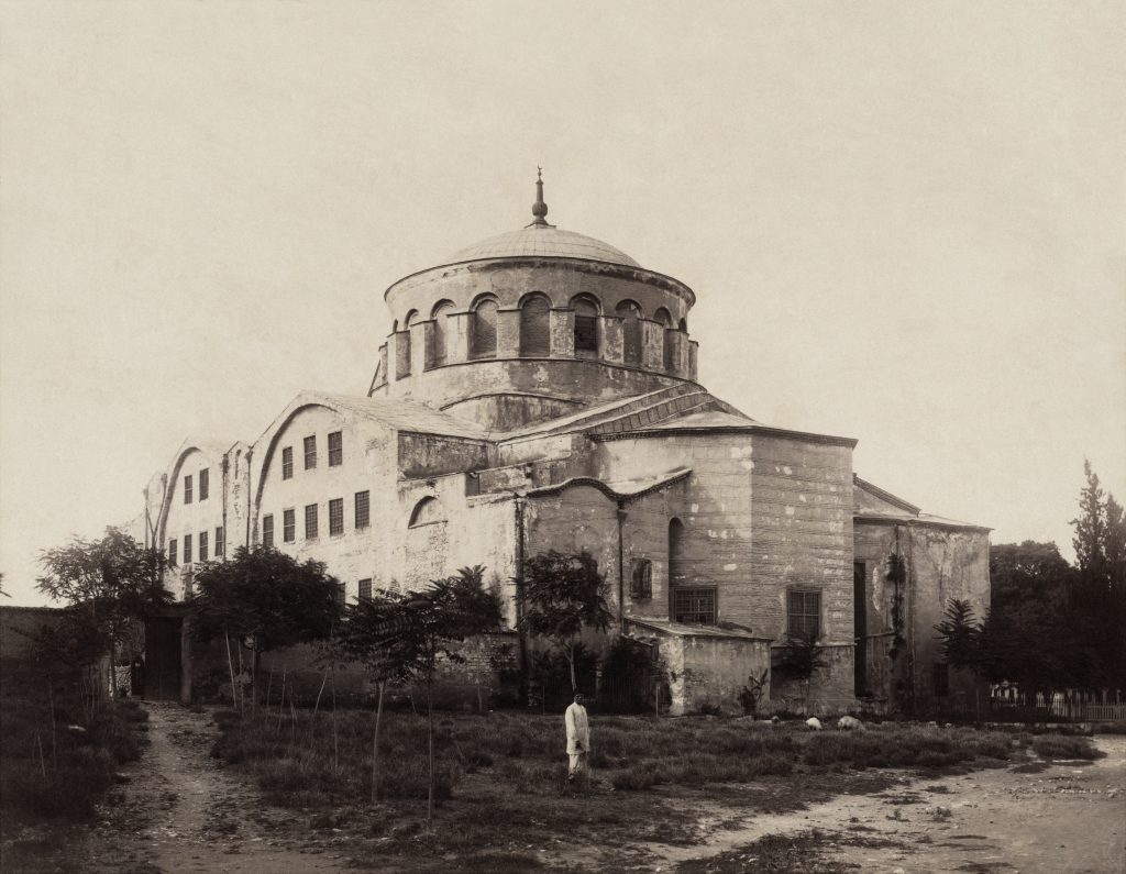 Old picture of Hagia Irene from 1888