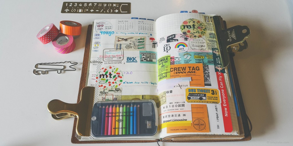 Travellers Notebook customized