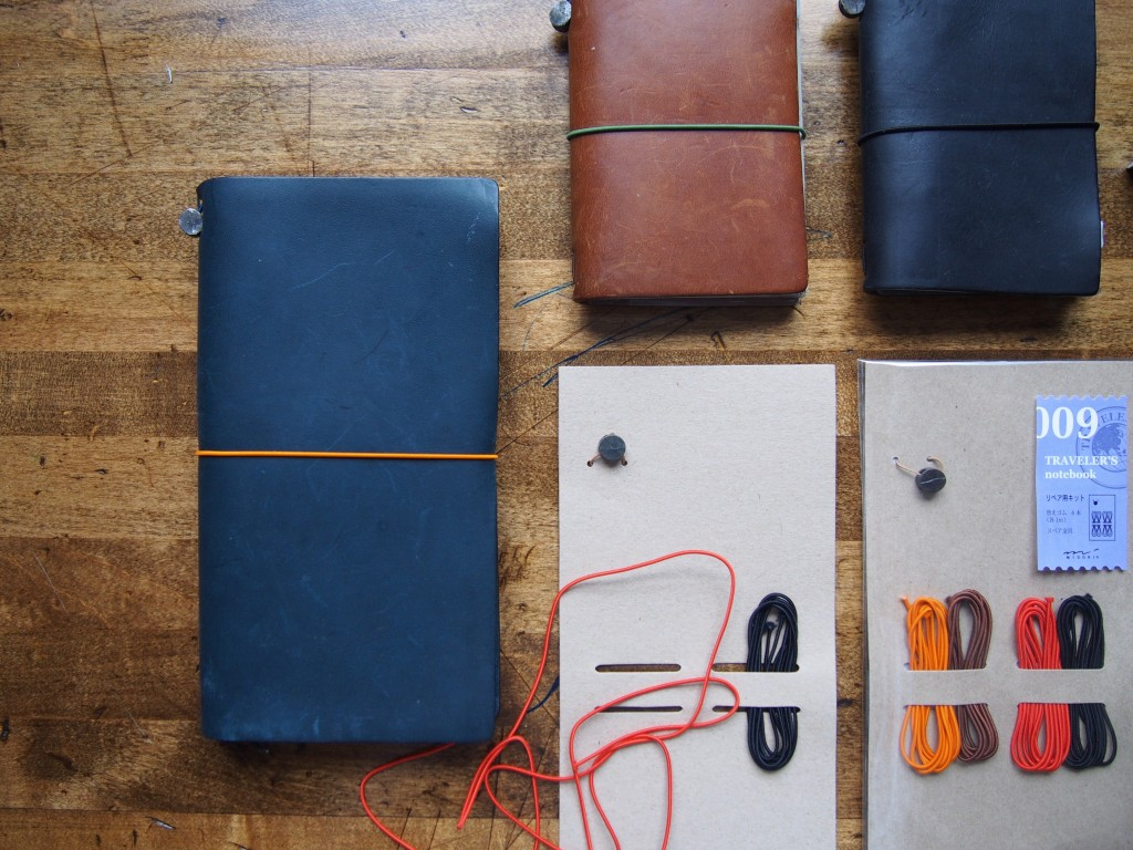 Travellers Notebook with leather covers